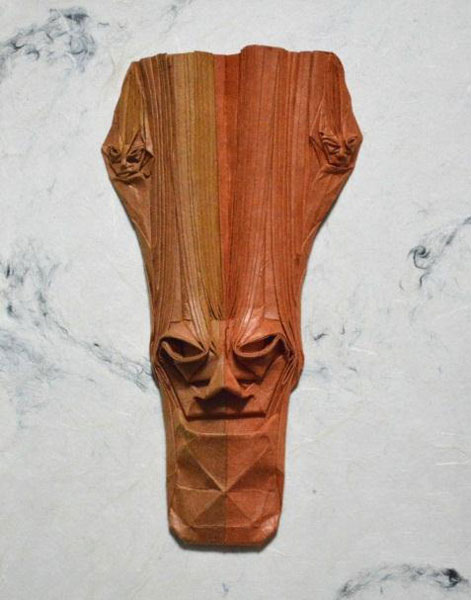 樹の面シリーズ「三賢者ー3」