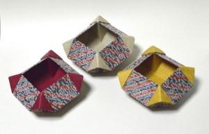 「器(うつは)」:四八角飾り器